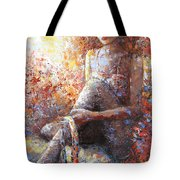 The Dancer In Ardent Tote Bag