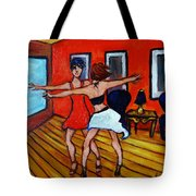 The Dancers Tote Bag