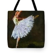The Dancing Ballerina Tote Bag