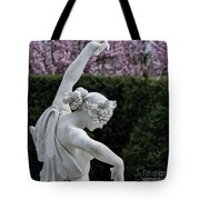 The Dancing Lesson Statue Tote Bag
