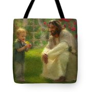 The Dandelion Tote Bag by Greg Olsen