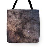 The Dark Horse And Snake Nebulae Tote Bag
