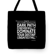 The Dark Path Tote Bag