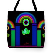 The Dark Side Of The Tuscan Moon Tote Bag