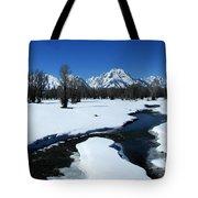 Winters End Tote Bag