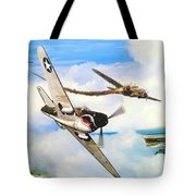 The Day I Owned The Sky Tote Bag