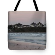 The Day Is Done At Long Sands Beach Tote Bag
