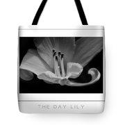 The Day Lily Poster Tote Bag
