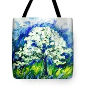 The Day Of Tree Tote Bag