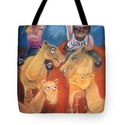 The Day The Tourists Came Tote Bag