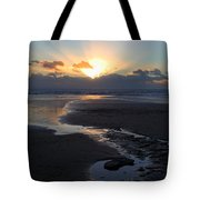 The Days Last Rays At Dunraven Bay Wales Tote Bag