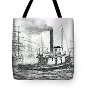The Days Of Steam And Sail Tote Bag
