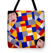 The De Stijl Dolls Tote Bag