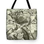 The Death And Burial Of Cock Robin Tote Bag