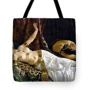 The Death Of Cleopatra Tote Bag