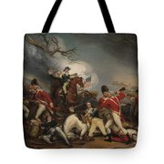 The Death Of General Mercer At The Battle Of Princeton, January 3, 1777  Tote Bag
