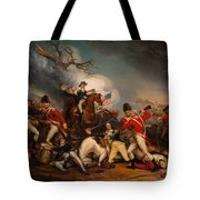 The Death Of General Mercer At The Bottle Of Princeton Tote Bag