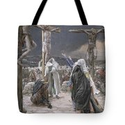The Death Of Jesus Tote Bag