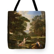 The Death Of Narcissus Tote Bag