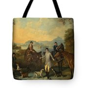 The Death Of The Hare Tote Bag