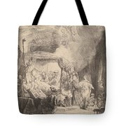 The Death Of The Virgin Tote Bag