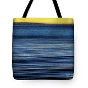 The Deep Blue Pacific Tote Bag