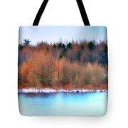The Deep Forbidden Lake Tote Bag