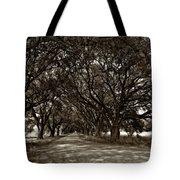 The Deep South Bw Tote Bag