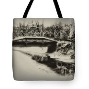The Delaware Canal At Washingtons Crossing  Tote Bag