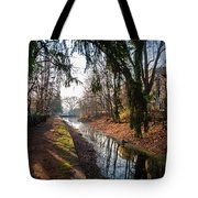 The Delaware Canal In New Hope Pa Tote Bag