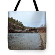 The Delaware River Tote Bag
