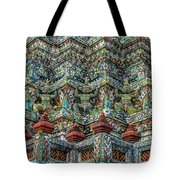 The Demons Of The Temple Tote Bag