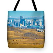 The Denver Skyline II Tote Bag