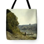 The Departure Of The Boatman Tote Bag