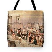 The Departure Of The Volunteers 1792 Tote Bag