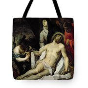The Deposition Tote Bag by Pieter van Mol