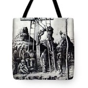 The Descent From The Cross 1475 Tote Bag