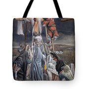 The Descent From The Cross Tote Bag by Tissot