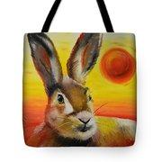 The Desert Hare Tote Bag