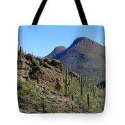 The Desert Mountains Tote Bag