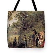 The Deserted Village Tote Bag