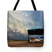 The Desolate Station Tote Bag
