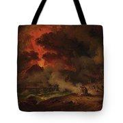 The Destruction Of Pompeii Tote Bag