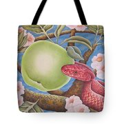 The Devil And Granny Smith Tote Bag
