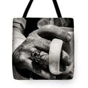 The Devil Drinks Coffee Tote Bag