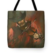 The Devil Went Down To Georgia Tote Bag