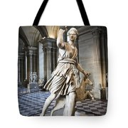 The Diana Of Versailles In The Louvre Tote Bag