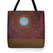 The Difficulty Of Crossing A Field Original Painting Tote Bag