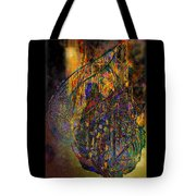 The Digital Heart Of The New City Tote Bag