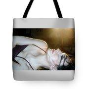 The Dilemma - Self Portrait Tote Bag
